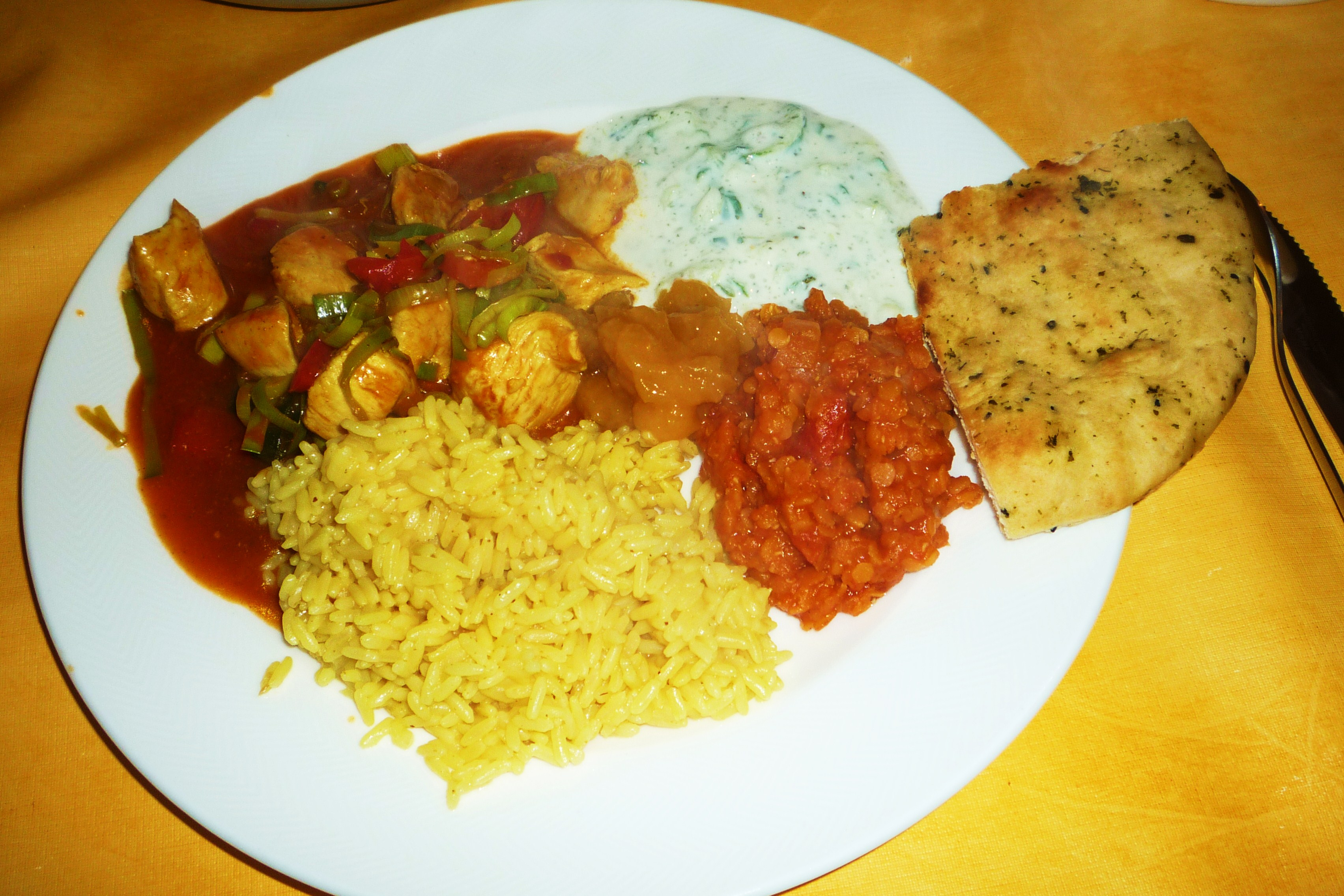 kleine wunder überall » indisches essen